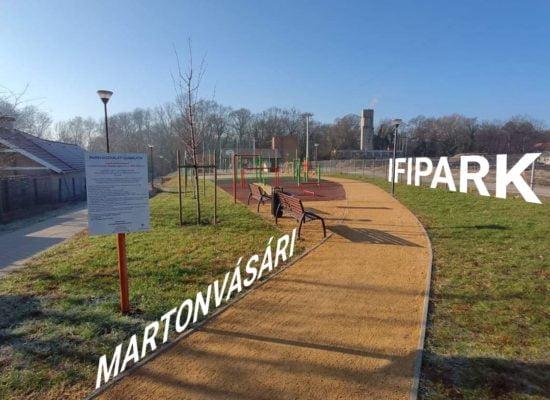 Martonvásári Ifipark - Free Sport Parks térkép