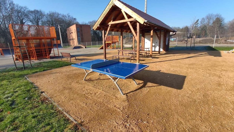 Ping-Pong asztal - Martonvásári Ifipark - Free Sport Parks térkép
