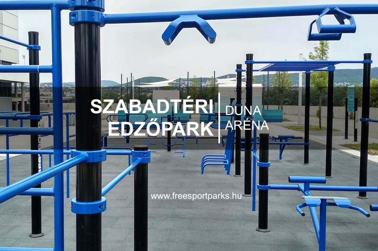 Duna Aréna Szabadtéri Edzőpark kondipark -Free Sport Parks térkép
