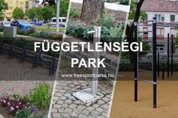 Függetlenségi park -új kondipark - Free Sport Parks térkép