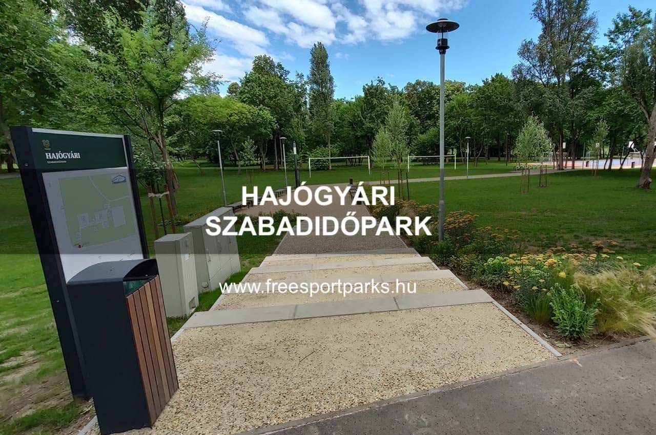Hajógyári sziget sportpark - Free Sport Parks térkép