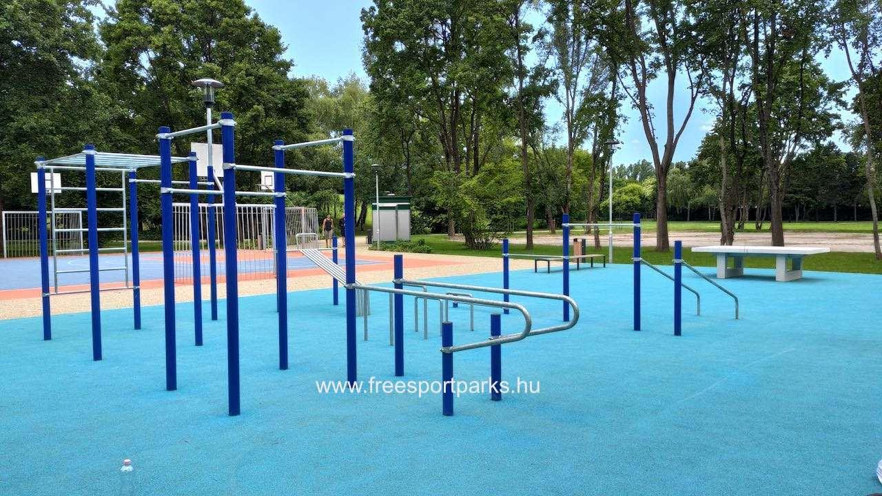 kondipark (Street Workout Park) a Hajógyári szabadidőpark területén