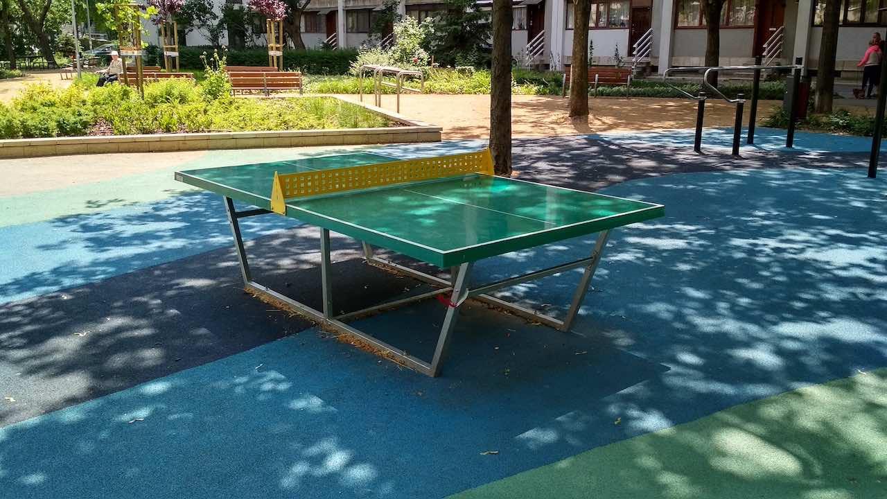 Angyalföld Esztergomi út 47. ping-pong asztal - Free Sport Parks térkép