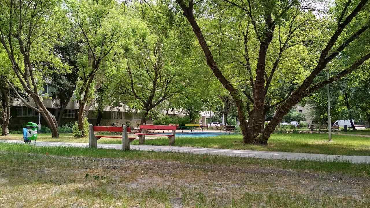 Angyalföld Esztergomi út 49. felújítás után - Free Sport Parks térkép