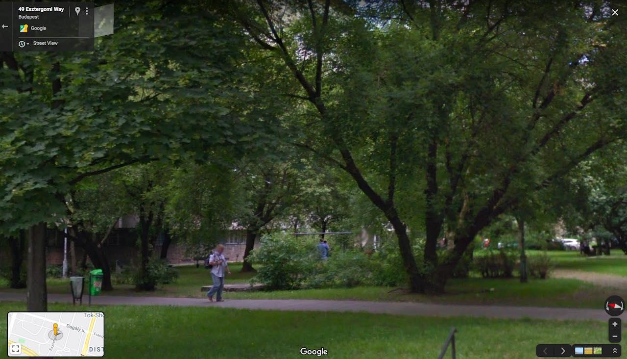 Angyalföld Esztergomi út 49. ilyen volt régen - Free Sport Parks térkép