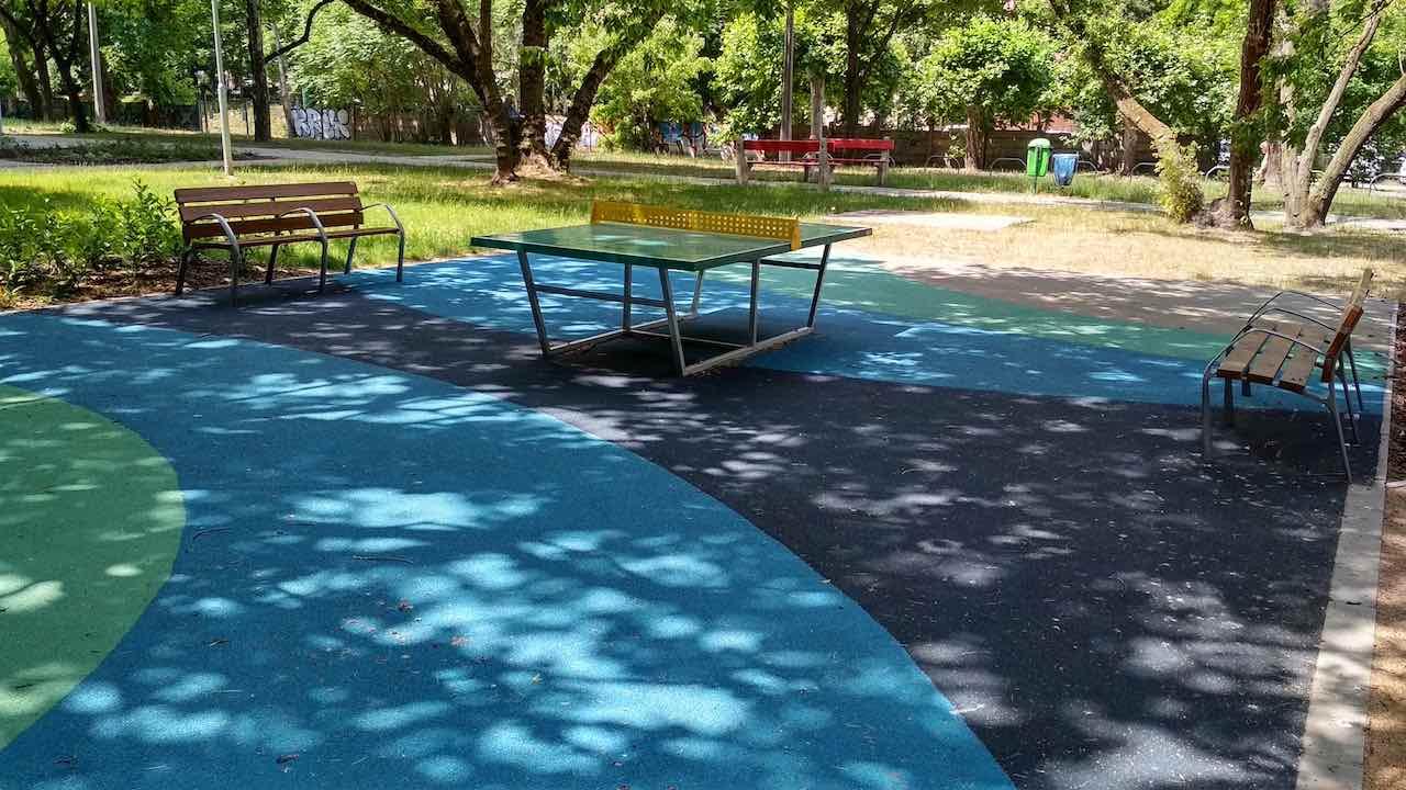 Angyalföld Esztergomi út 49. ping-pong asztal - Free Sport Parks térkép