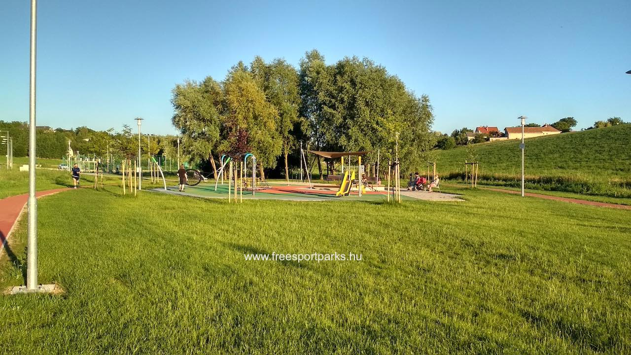 Játszótér a Biatorbágy Sportpark területén - Free Sport Parks térkép