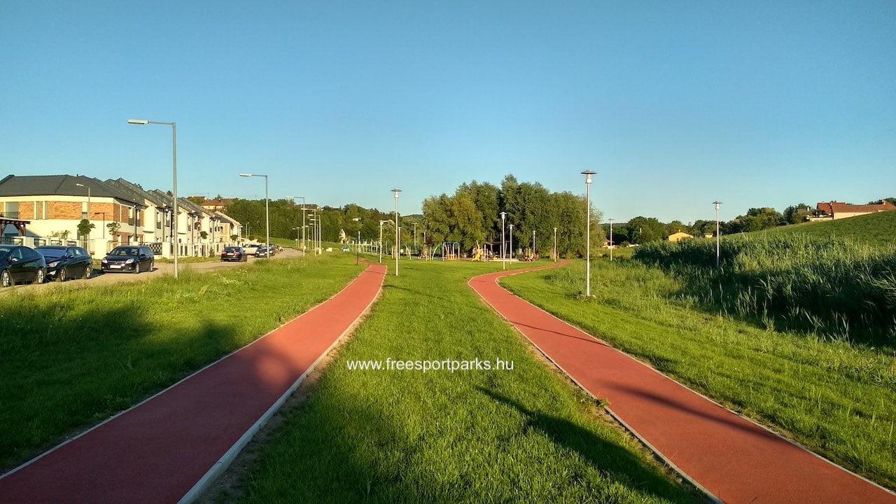 Rekortán futópálya a Biatorbágy Sportpark területén - Free Sport Parks térkép