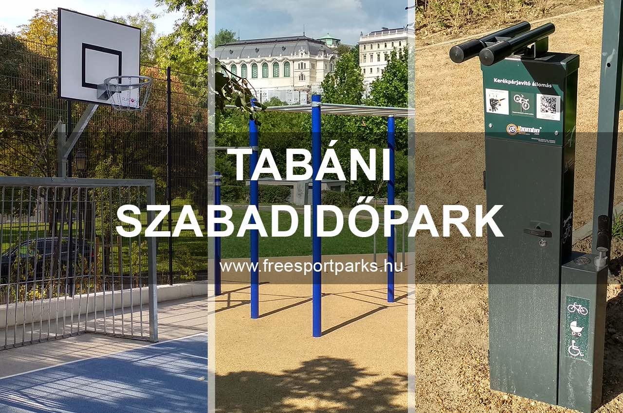 Tabáni szabadidőpark - Free Sport Parks Térkép