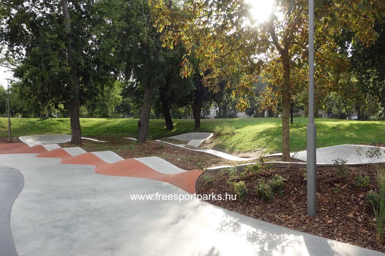 beton Pump Track pálya