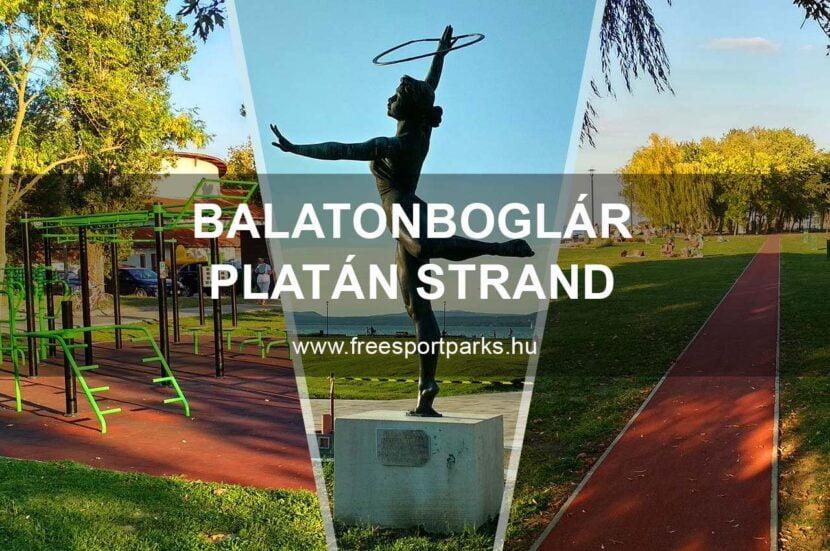 Balatonboglár Platán strand, közösségi sporttér - Free Sport Parks Térkép