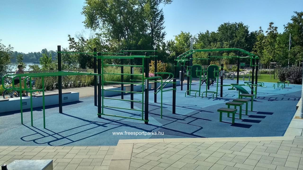 kondipark, Street Workout Park a Dunafok Szabadidőpark területén