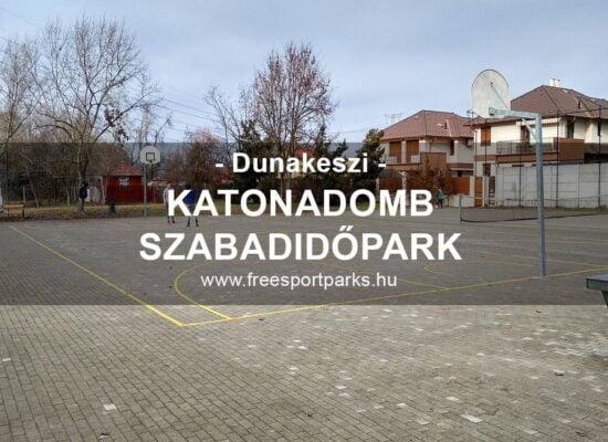 Katonadomb Szabadidőpark szabadstranddal, Dunakeszi - Free Sport Parks térkép