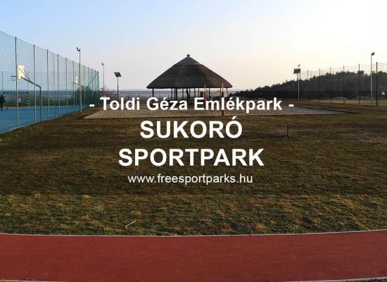 Sukoró sportpark a Toldi Géza emlékparkban - Free Sport Parks térkép