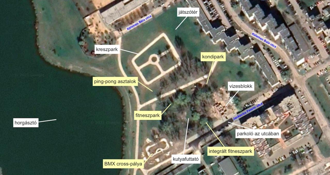 Palotavárosi szabadidőpark sporthelyszínei