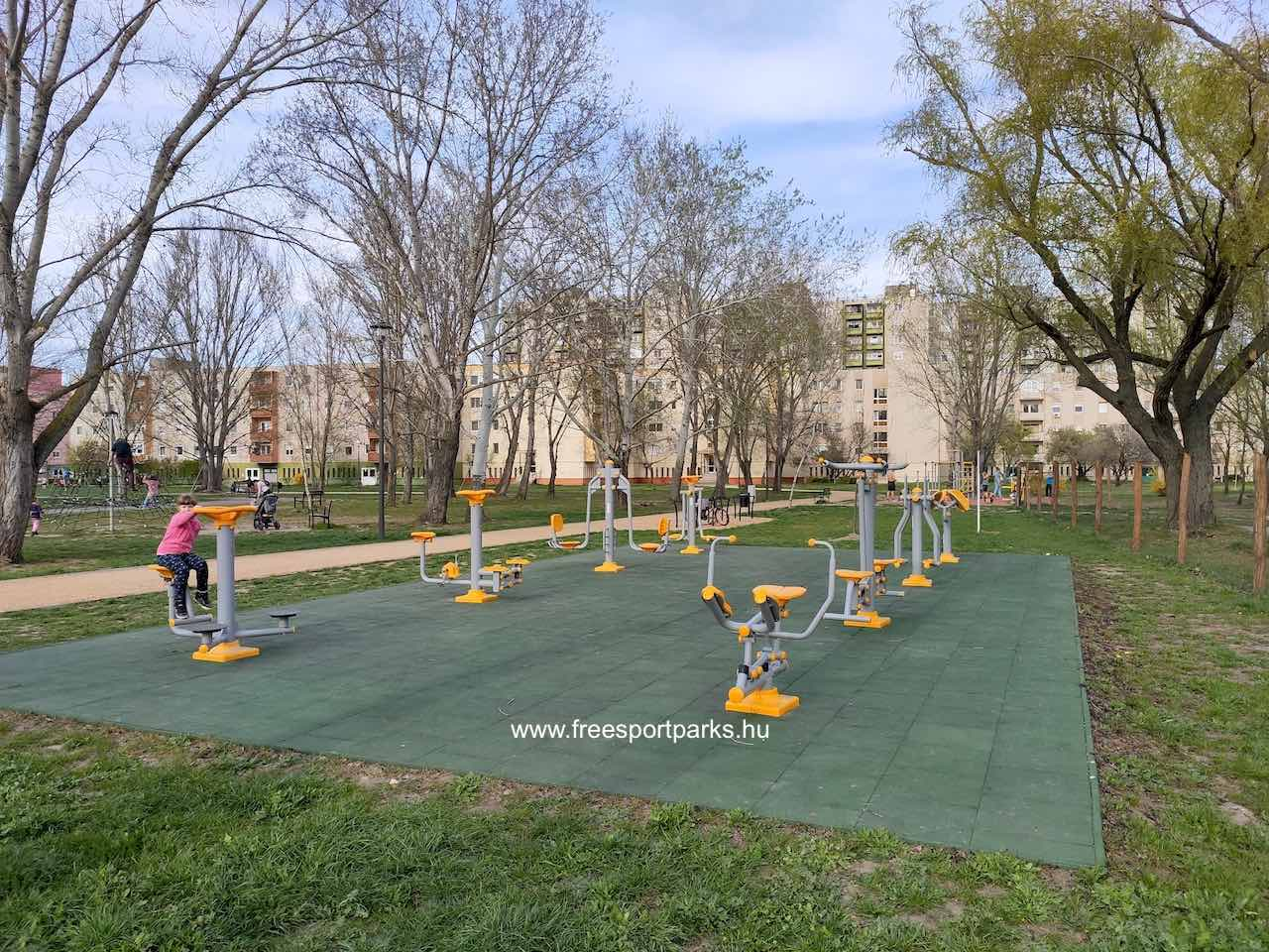 Fitneszpark - Palotavárosi szabadidőparkterületén