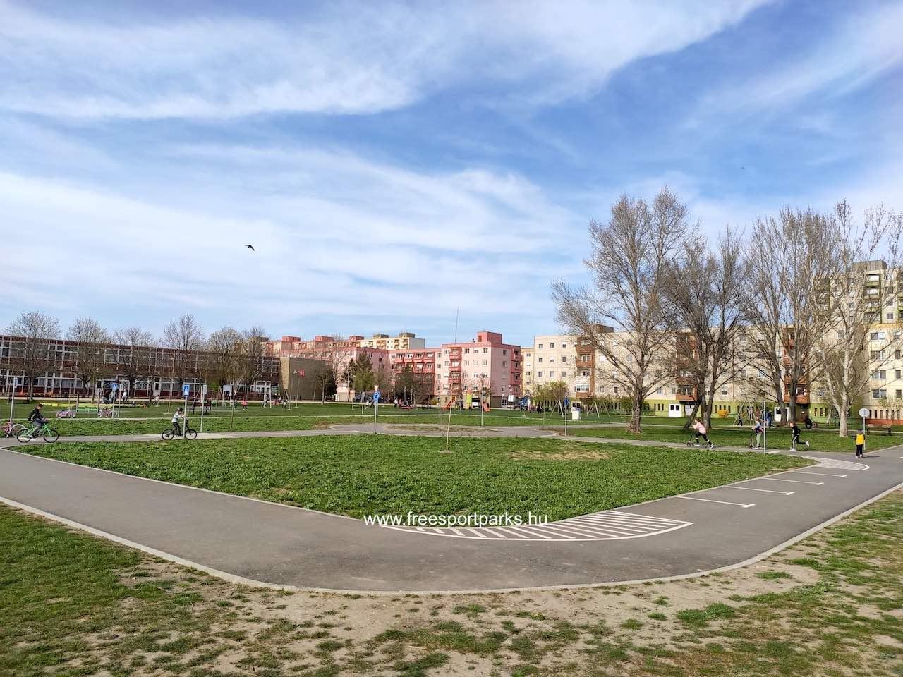 kreszpark a Palotavárosi szabadidőpark közepén