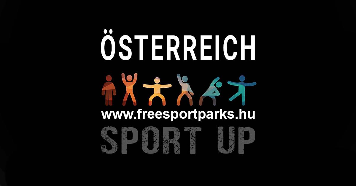 Österreich Sportkarte - Free Sport Parks Austria
