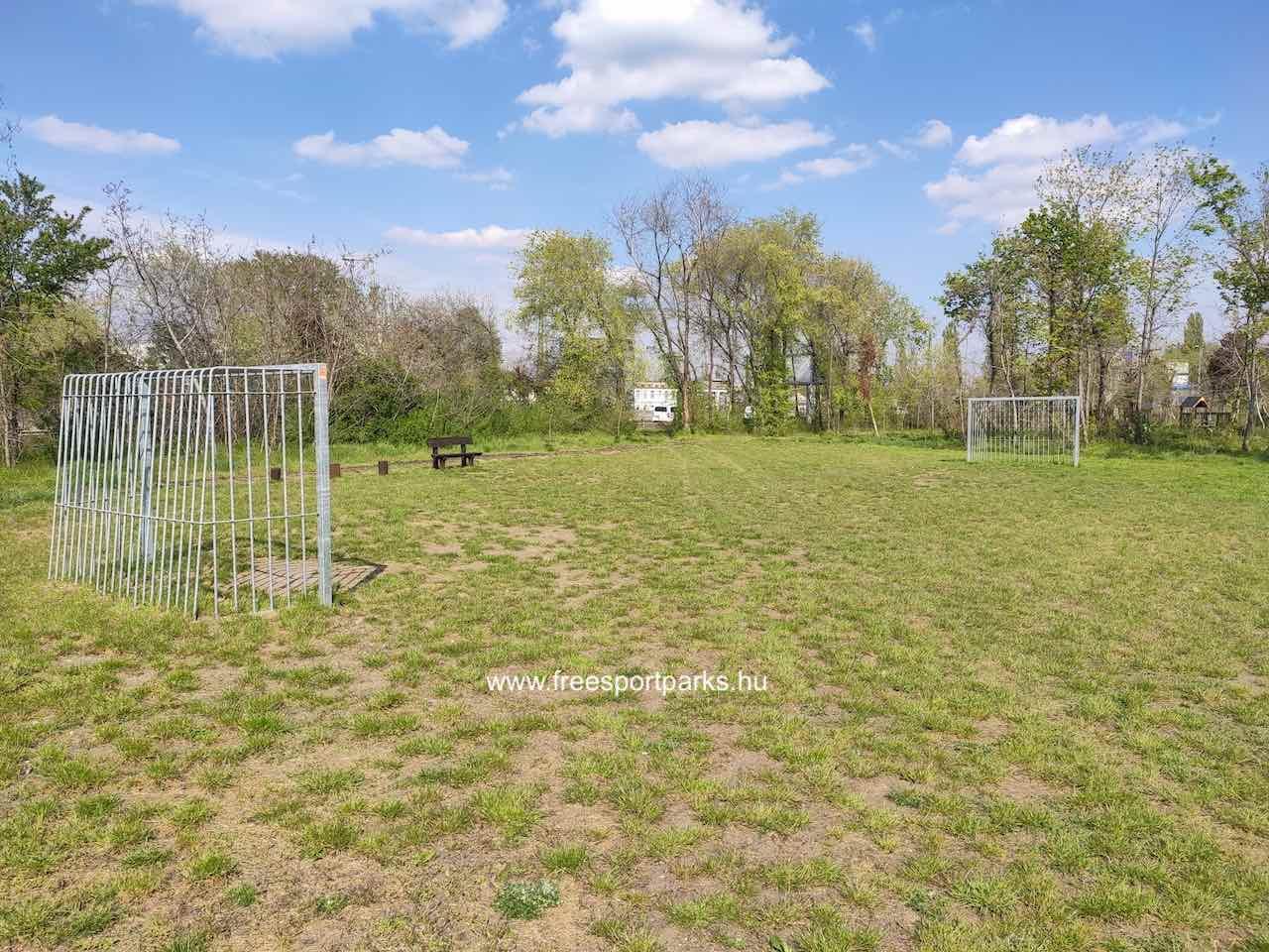 Kúttói parkerdő focipálya - Free Sport Parks térkép