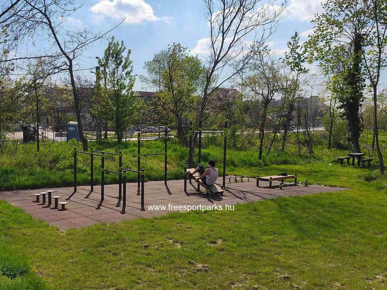 Kúttói parkerdő kondipark (Street Workout Park) - Free Sport Parks térkép