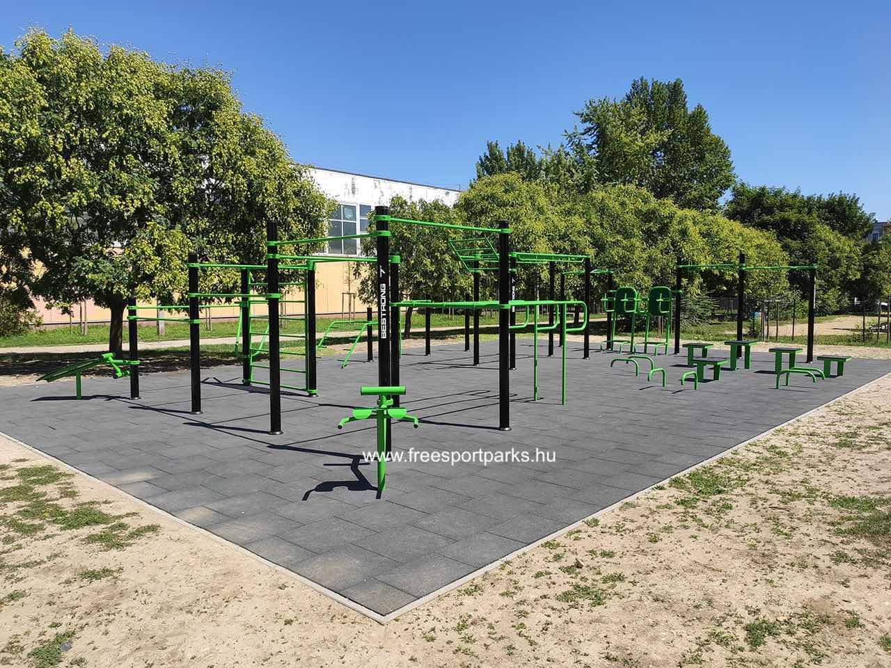Arató Emil tér - Óbudai kondipark (Street Workout Park) - Free Sport Parks térkép