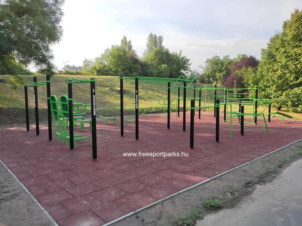 Búza utca (Bud Spencer Park) - Óbudai kondipark (Street Workout Park) - Free Sport Parks térkép
