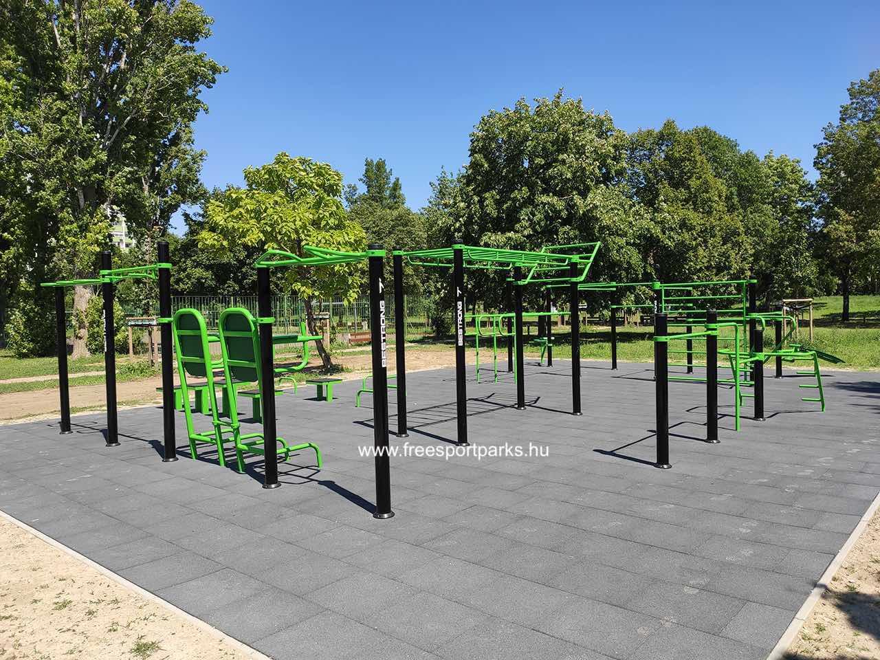 Csobánka tér (Békásmegyer) - Óbudai kondipark (Street Workout Park) - Free Sport Parks térkép