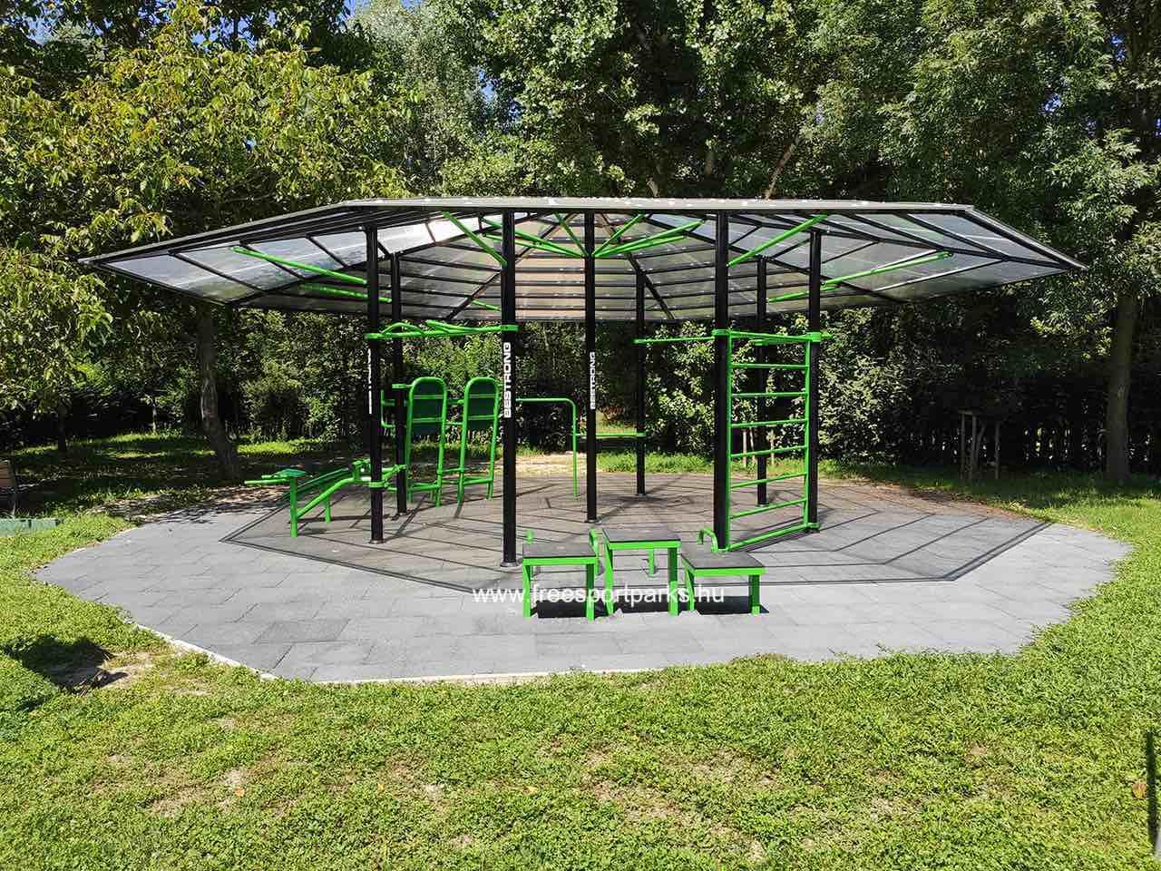 Gladiátor utca - Óbudai kondipark (Street Workout Park) - Free Sport Parks térkép