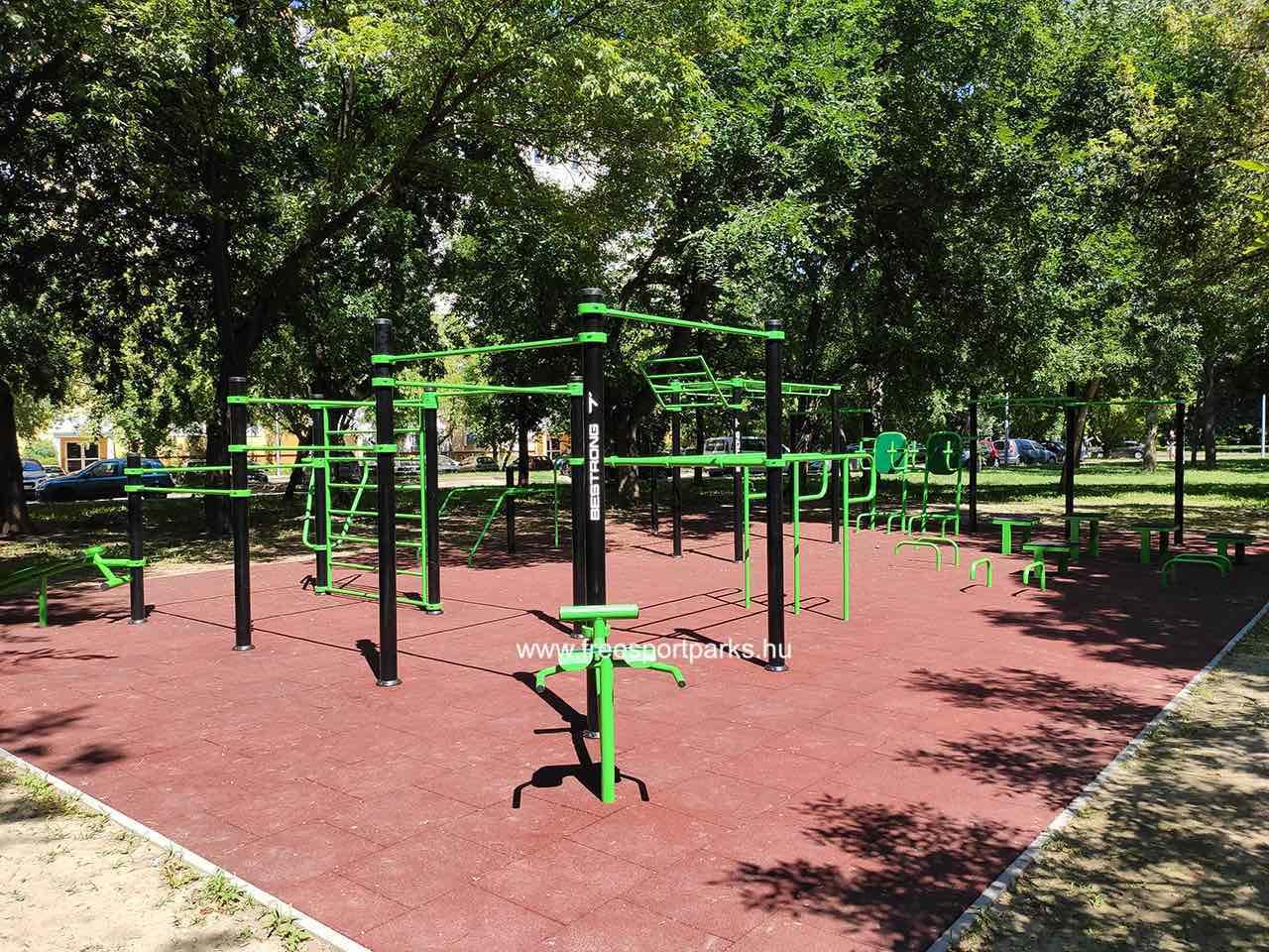 Gyűrű utca (Békásmegyer) - Óbudai kondipark (Street Workout Park) - Free Sport Parks térkép