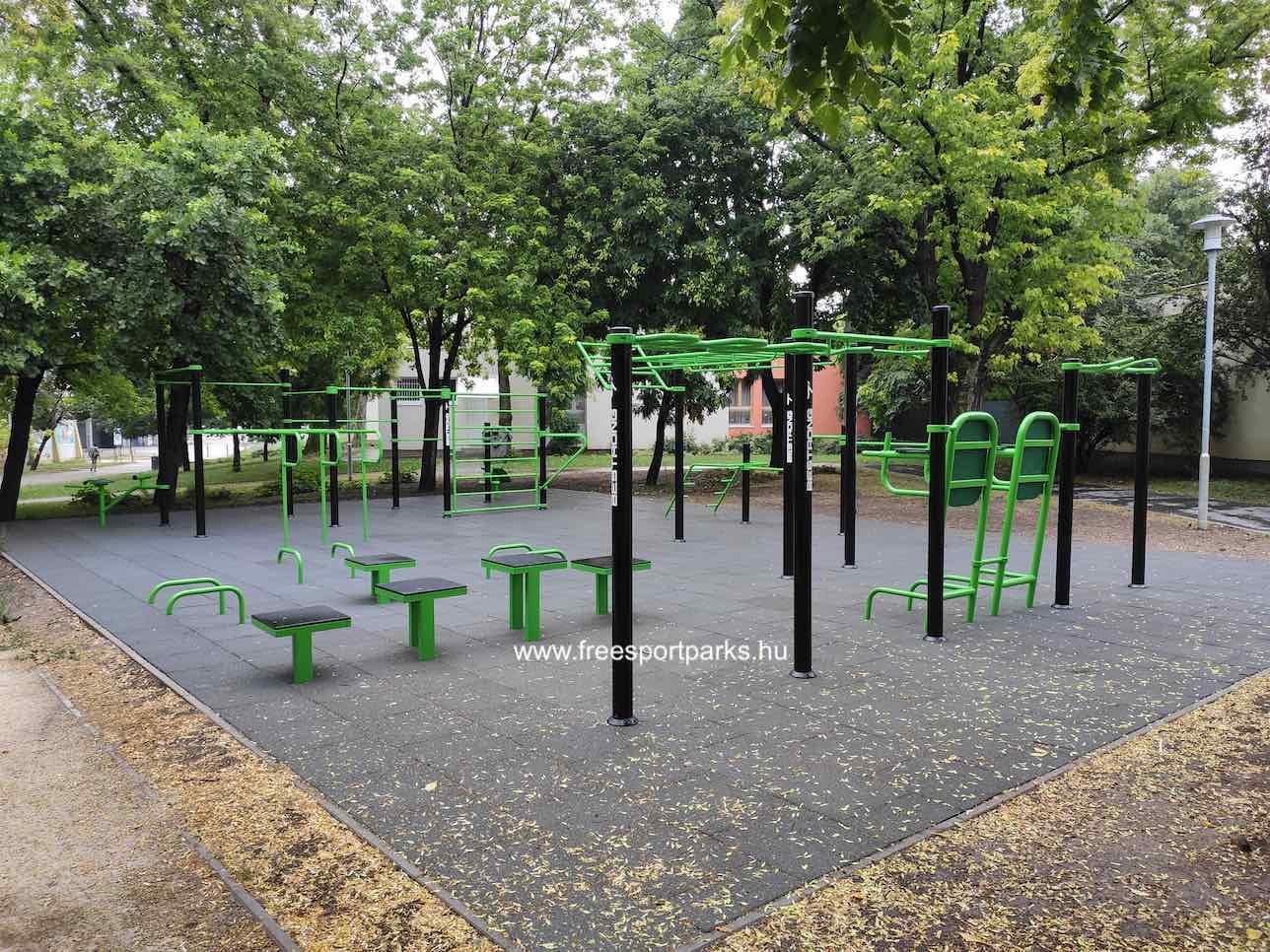 Holdudvar park - Óbudai kondipark (Street Workout Park) - Free Sport Parks térkép