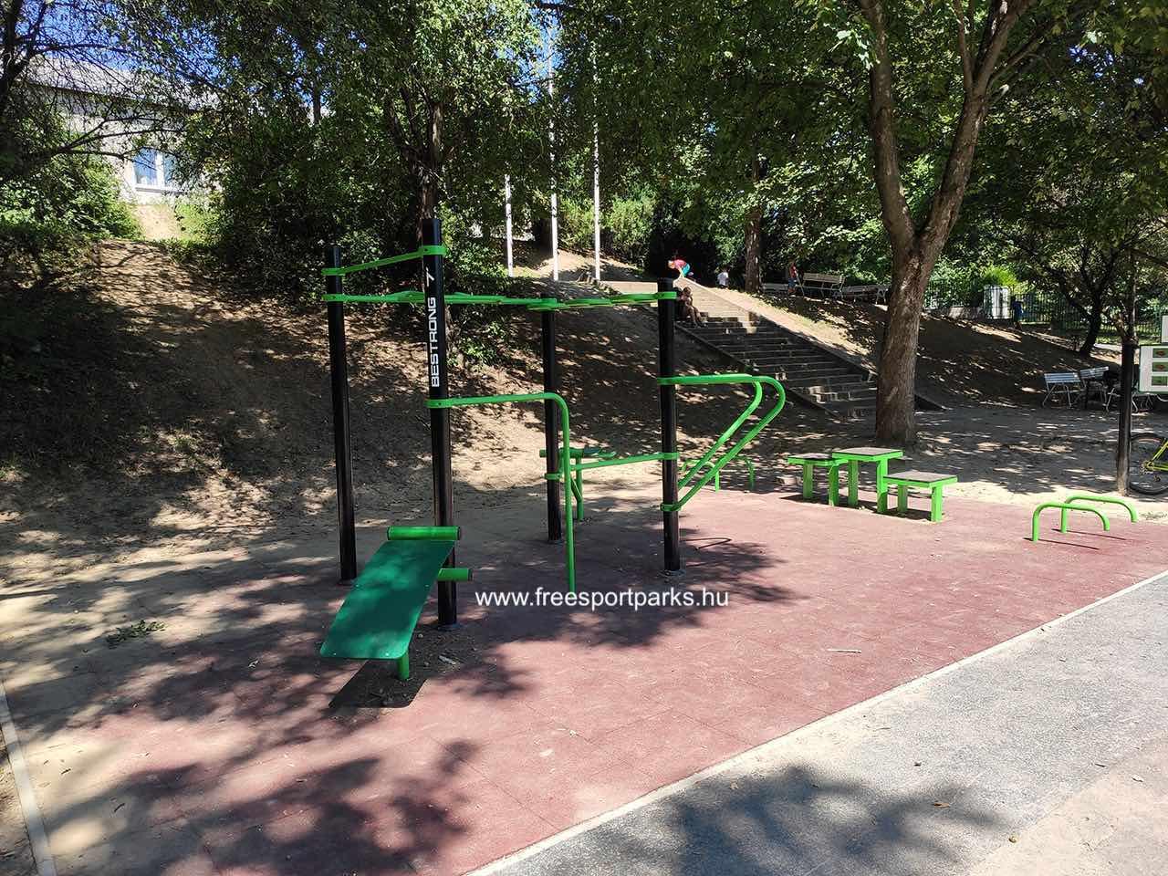 Laborc utca (Óbudai Szabadidőpark) - kondipark (Street Workout Park) - Free Sport Parks térkép
