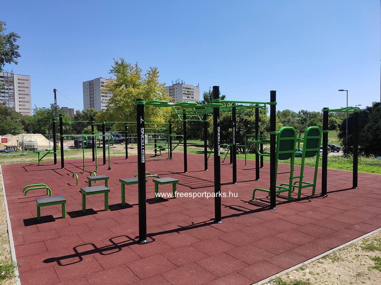 Lukács György utca (Békásmegyer) - Óbudai kondipark (Street Workout Park) - Free Sport Parks térkép
