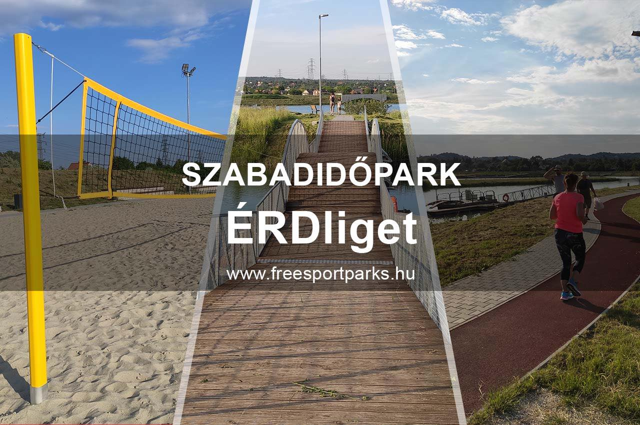 Érd szabadidőpark - Free Sport Parks térkép