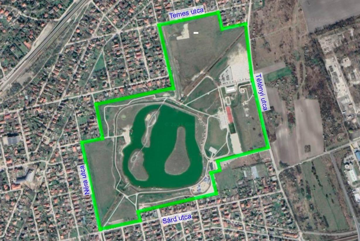 Érd szabadidőpark elhelyezkedése - Free Sport Parks térkép