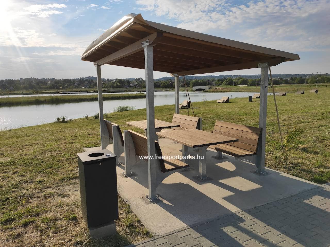 fedett pihenő - Érd szabadidőpark - Free Sport Parks térkép