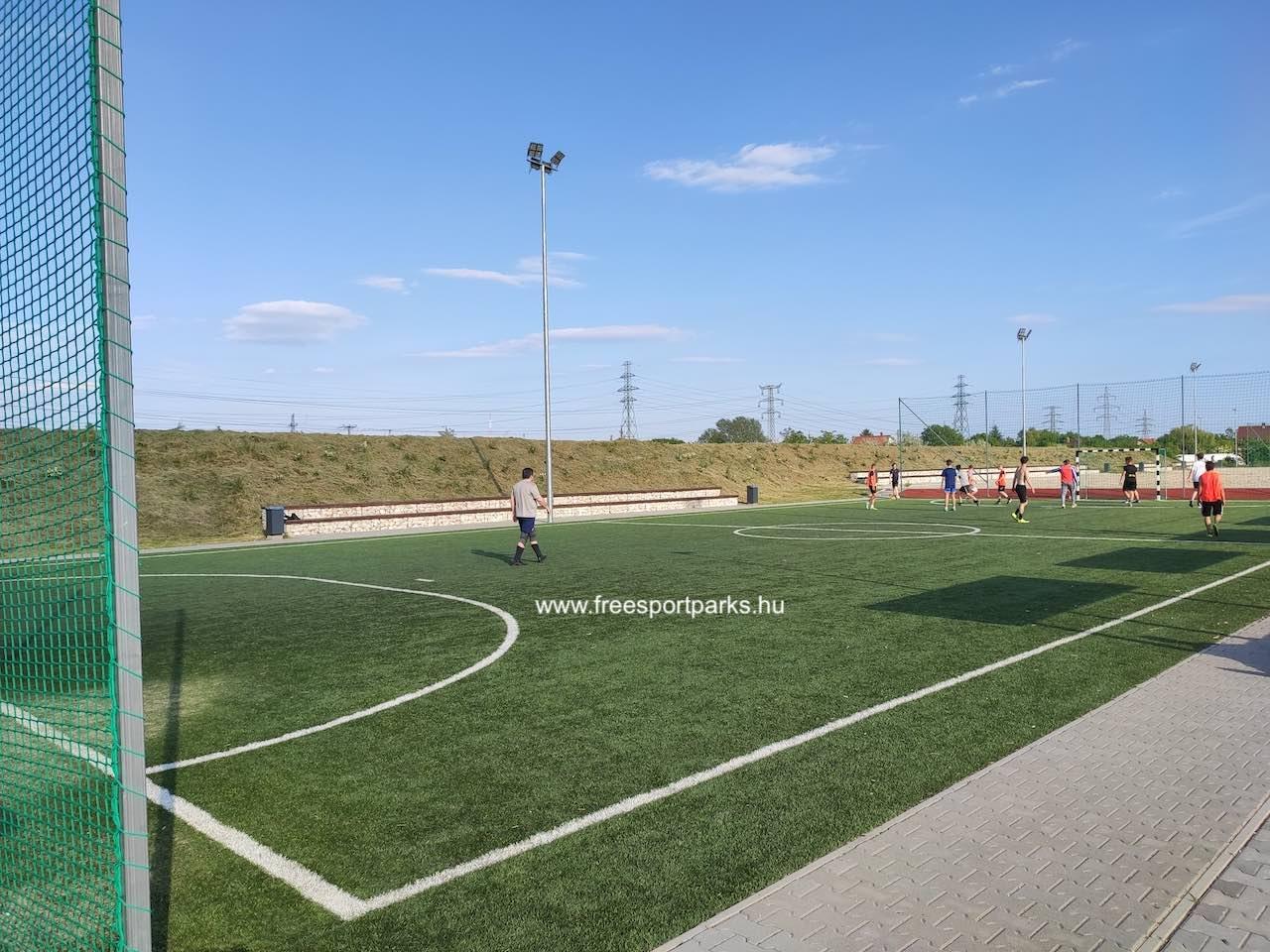focipálya - Érd szabadidőpark - Free Sport Parks térkép
