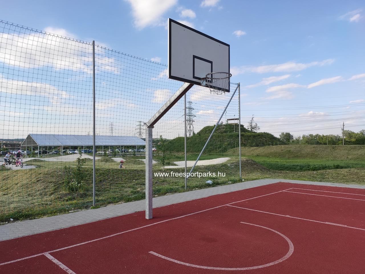 kosárlabda pálya - Érdliget szabadidőpark - Free Sport Parks térkép