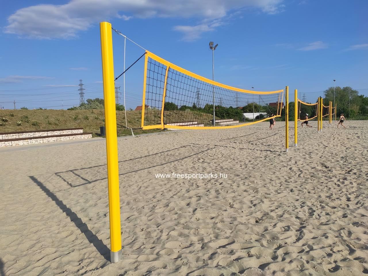 strandröplabda pálya - Érdliget szabadidőpark - Free Sport Parks térkép